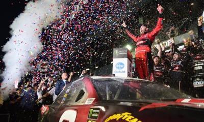 Twenty Years Later, Austin Dillon Takes RCR 3 Car to Daytona 500 Victory Lane