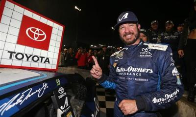 Martin Truex Jr Earns First Career Short Track Win at Richmond