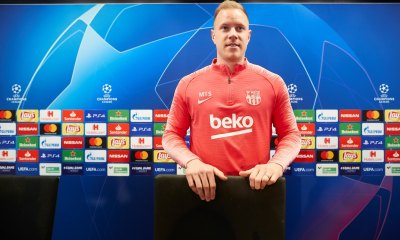 Ter Stegen Season Over For Barcelona