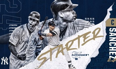 Three Yankees Selected to All Star Game