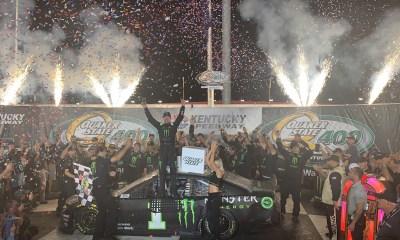 Kurt Busch Earns First Chevrolet Win at Kentucky
