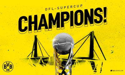 Dortmund Lift The German Super Cup