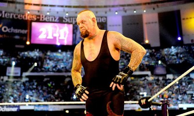 "The Undertaker Signs A New ""Mind Blowing"" Contract With WWE"