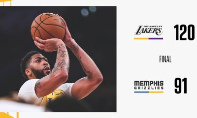 4 Takeaways From Los Angeles Lakers 120-91 Win Over Grizzlies