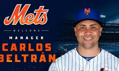Mets Name Carlos Beltran As Their New Manager