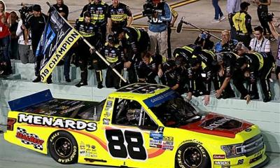 Matt Crafton Wins the 2019 Truck Series Championship