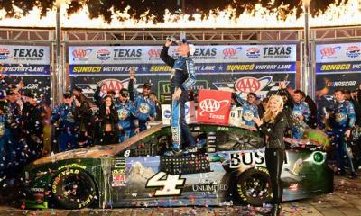 Harvick Heading to Homestead After Third-Straight Texas Win