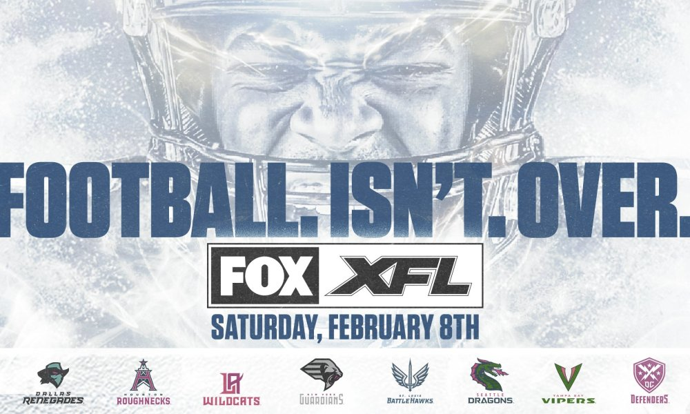 XFL Week 1: Dates, Times and Matchup Information