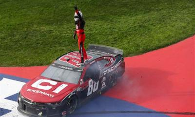 Banner Day for Alex Bowman in Auto Club Win