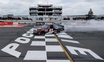 Brandon Jones Wins At Pocono