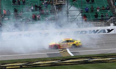 Joey Logano Earns Championship 4 Spot at Kansas
