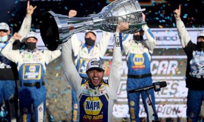 Chase Elliott Wins 2020 Cup Series Championship