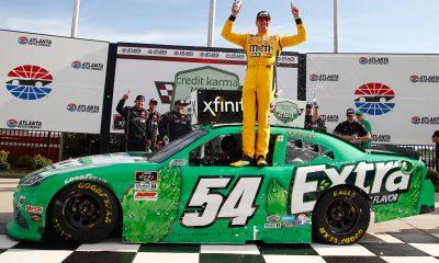 Kyle Busch Exits Xfinity Series on Top in Atlanta