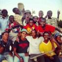 Group Picture at Don Bosco Skatepark, Dodoma-Tanzania.