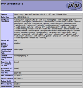 php-info-screenshot