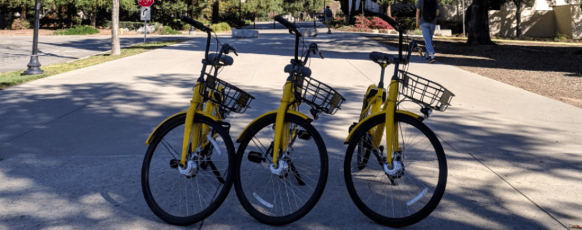 Ofo hits the brakes: Bike-share company pulls out of Claremont