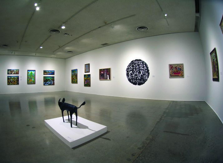Room in a museum
