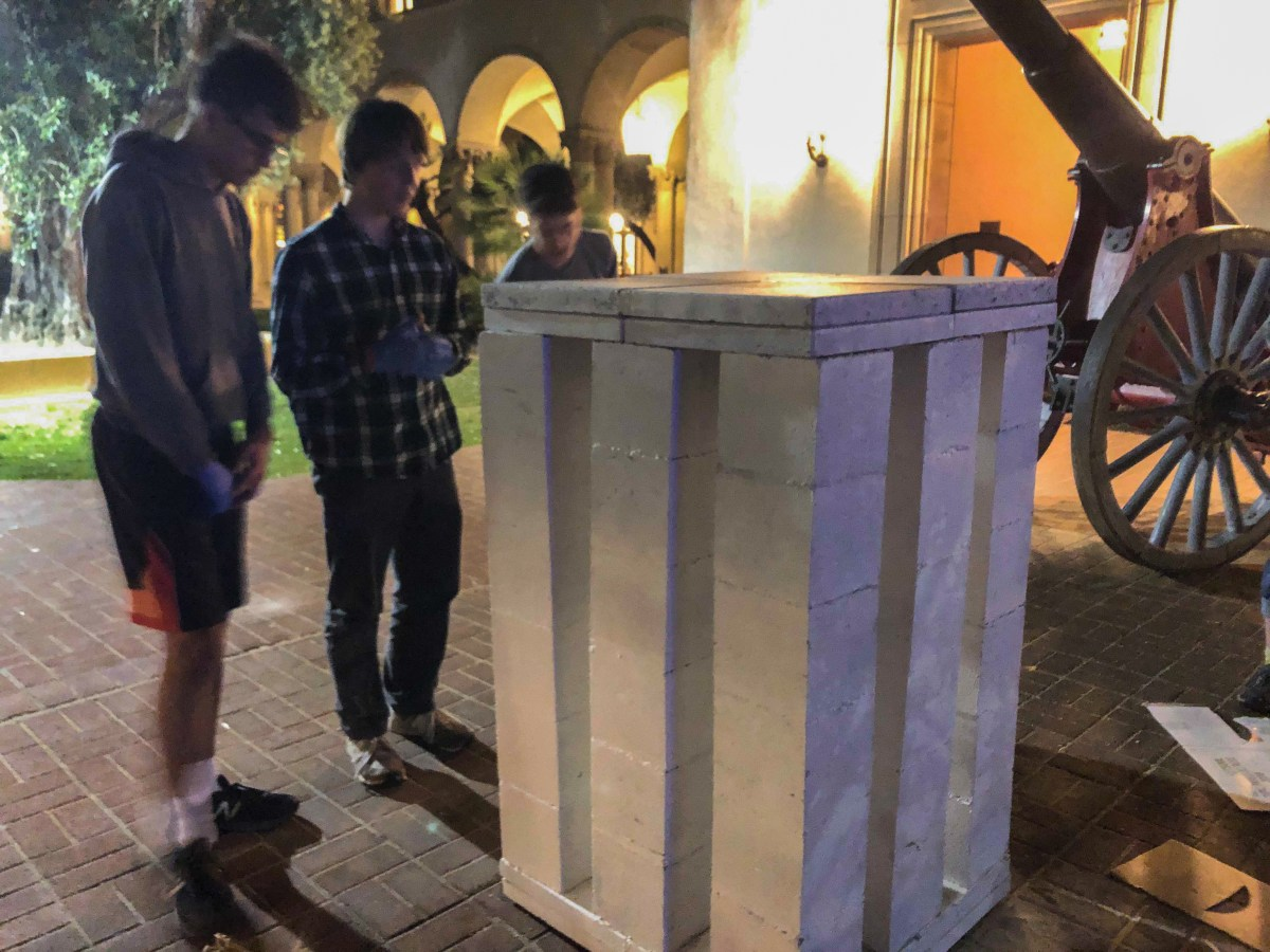 Bringing pranking back: A look inside Mudders' late-night Caltech prank