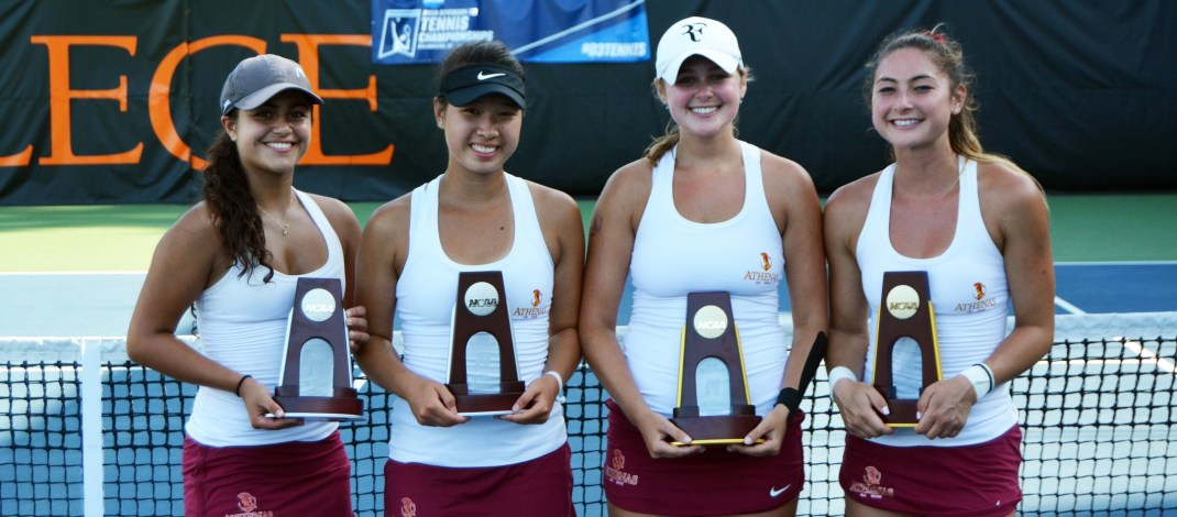 Postseason roundup: CMS women's tennis makes history, track and field athletes win national accolades
