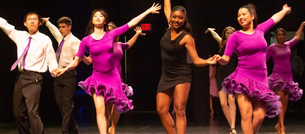 More than 100 students shine at spring ballroom performance 'Break-Up to Make-Up'