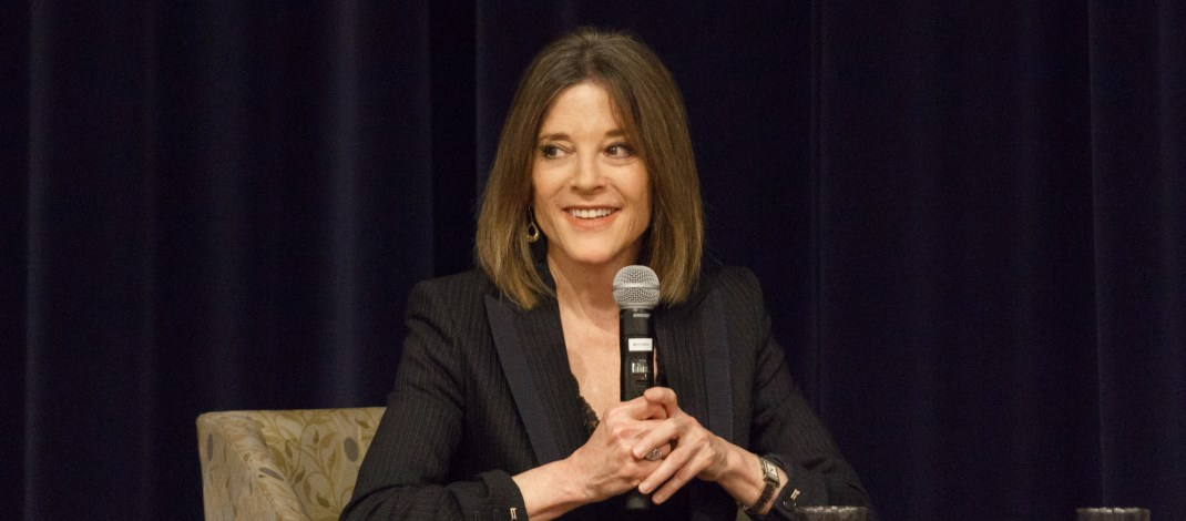 Former Pomona student Marianne Williamson drops out of presidential race