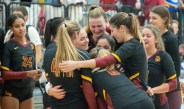 'This is our house': CMS volleyball sweeps Chapman to win third straight SCIAC title