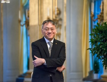 Nobel Prize winner Kazuo Ishiguro captivates audience at Scripps Presents collaboration