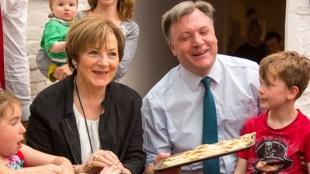 Delia and Ed making breadsticks (C) Matt Ryan