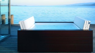 Sundeck spa pool £5,228 www.duravit.co.uk