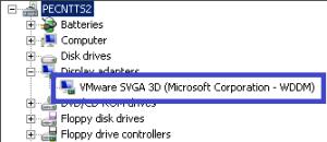 VMware WDDM Driver