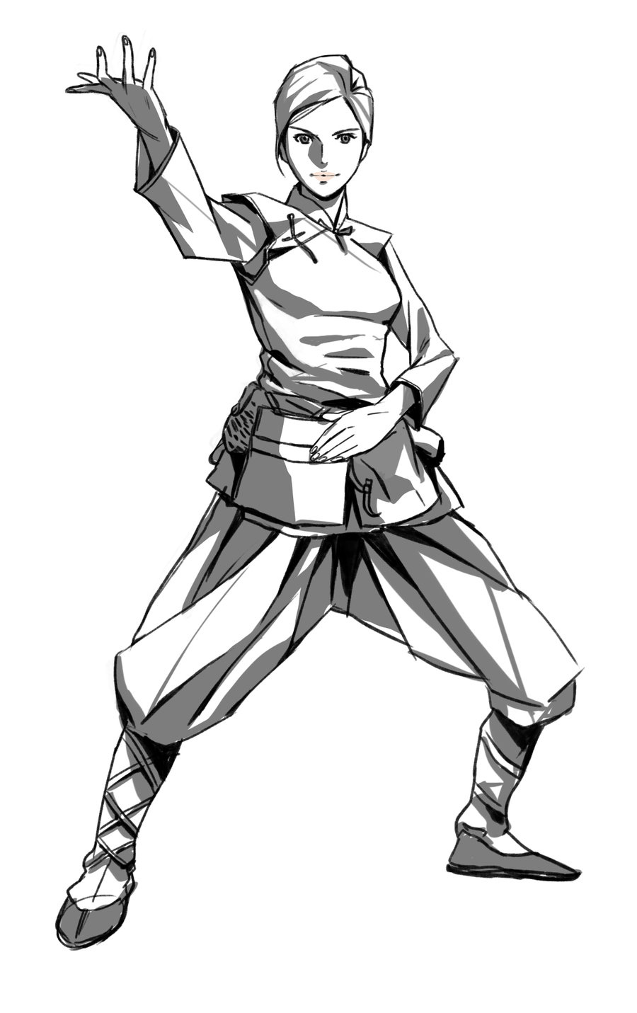 Tai Chi Coloring Pages Coloring Pages