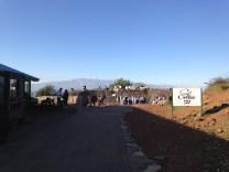 Coffee at Mount Bental