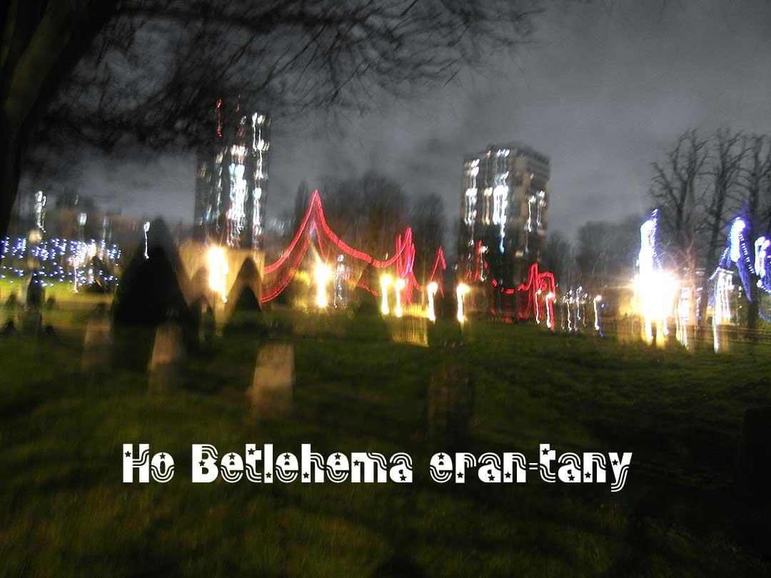Ho Betlehema eran-tany