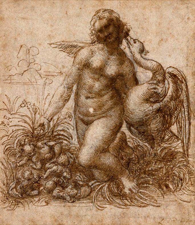 Leonardo Da Vinci, Leda and the Swan