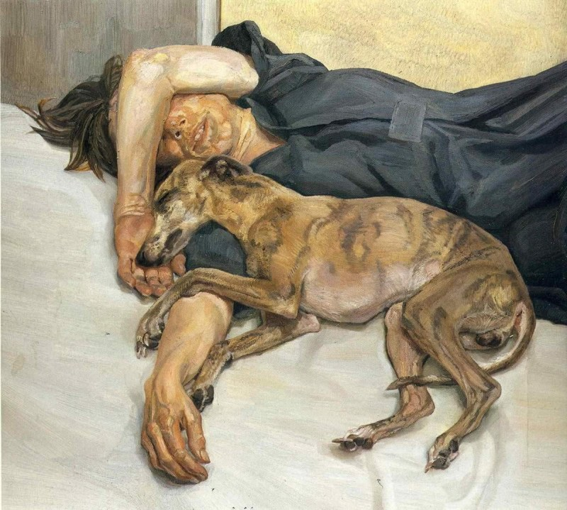 Lucian Freud - Double Portrait