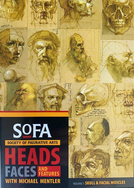 Michael Mentler, Instructional DVD: Heads, Faces, and Features (Volume one), box set