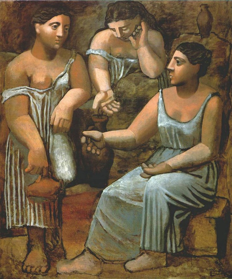 Picasso - Three Women at the Spring