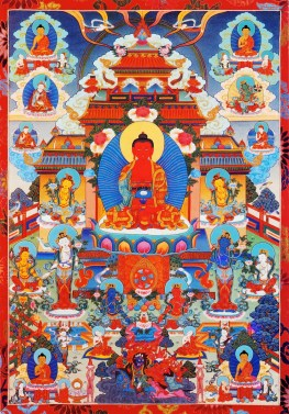 Pure Land of the Buddha Amitabha
