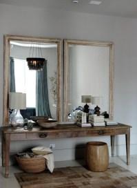 παλιά κονσολα + παλιοί καθρέπτες