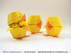 easter-egg-carton-chicks by paperplateandplane
