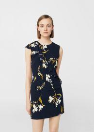 mango-blue-mini-dress