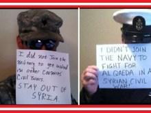 Αναβρασμός στις ένοπλες δυνάμεις των ΗΠΑ: «Δεν κατατάχθηκα για να πολεμήσω στο πλευρό της Αλ Κάιντα!!!