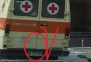 Αυτό, το ΕΝ ΕΝΕΡΓΕΙΑ ιδιωτικό κινητό ερείπιο είναι ασθενοφόρο???