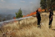 Αυλωνάρι: Στις φλόγες ένα από τα ωραιότερα μέρη της Εύβοιας