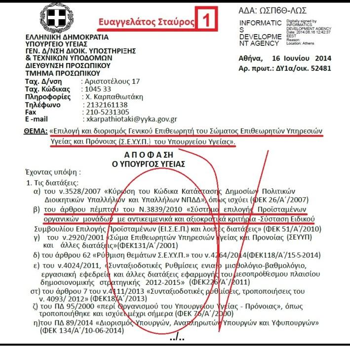 ΕΥΑΓΓΕΛΑΤΟΣ ΣΤΑΥΡΟΣ 1 -Γ Ε ΣΕΥΥΠ