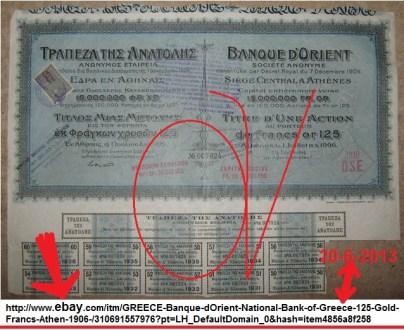 ΜΕΤΟΧΗ Banque d'Orient