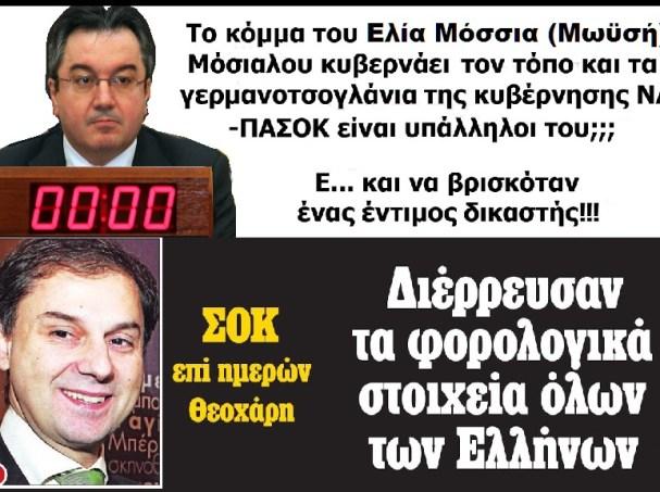 ΜΟΣΙΑΛΟΣ ΕΛΙΑ -ΧΑΡΗΣ ΘΕΟΧΑΡΗΣ