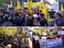 Ελληνορθόδοξοι του κόμματος Levant συγκεντρώθηκαν μπροστά στην Τουρκική πρεσβεία του Λιβάνου.