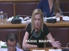 Παραμένει στους «Ανεξάρτητους Έλληνες» η Ραχήλ Μακρή.