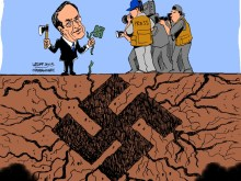 Ο αντιναζί …ναζί Σαμαράς, δια χειρός LATUFF!!!